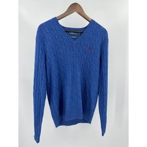 Polo by Ralph Lauren Pony Blue Label Silk Sweater